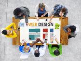 Website Design Ideas Concept — Stock Photo