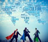 Kültür ideolojisi toplum ilke kavramı — Stok fotoğraf