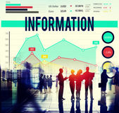 Information Data Info Fact Technology Concept — Stock Photo