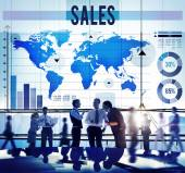Sales Accounting Concept — Stock Photo