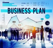 Business Plan Strategy Marketing Concept — Stock Photo