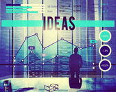 Idea Creativity Inspiration Imagination Concept — Stock Photo