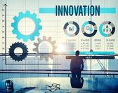 Conceito de desenvolvimento de inovação — Fotografia Stock