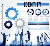 Identity Trademark Copyright Concept — Stock Photo