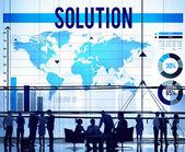 Probleem oplossen concept — Stockfoto