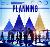 Marketing planning concept — Stock Photo