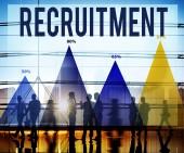 Recruitment Employment Concept — Stock Photo