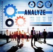 Anslyze Analysis Data Concept — Stock Photo