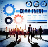 Commitment Compliance Concept — Stock Photo