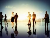 Business People Corporate Cityscape Concept — Stock Photo