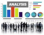 解析解析情報概念 — ストック写真