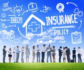 Insurance Policy Discussion Concept — Stock Photo