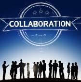 Partnership Corporate Concept — Stock Photo