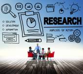 Research Exploration Concept — Stock Photo