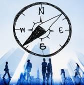 Compass Adventure Concept — Stock Photo