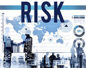 Risk Protect Secure Concept — Stock Photo