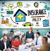 Insurance Trust Protection Concept — Stock Photo