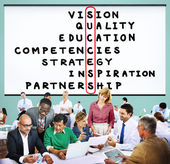 Success Strategy Vision Concept — Stock Photo