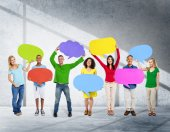Global Community Communication People — Stock Photo