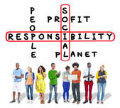 Social Responsibility  Ethics Concept — Stock Photo
