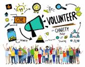 Volunteer Charity Concept — Stock Photo