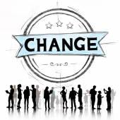 Change Development Revolution Concept — Stock Photo
