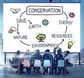 Conservation Environment Ecology Concept — Stock Photo