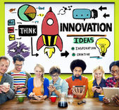 Innovation Business Plan Concept — Stock Photo