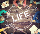 Life Breath Concept — Stock Photo