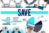 Savings Money Concept — Stock Photo