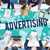 Advertising Marketing Concept — Stock Photo