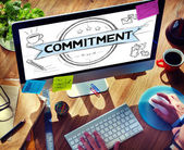 Commitment Conviction Concept — Stock Photo