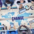 Change New Opportunity Process Revolution Concept — Stock Photo #78112990