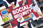 Social Security Welfare Retirement Payment Concept — Stock Photo