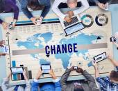 Change New Opportunity Process Revolution Concept — Stock Photo