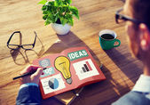 Idées créativité Inspiration Concept — Photo