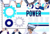 Power Competency Professional Concept — Stock Photo