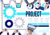 Project Program Plan Creativity Concept — Stock Photo