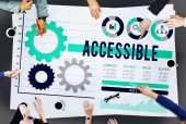 Accessible Attainable Concept — Stock Photo