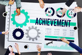 Achievement Accomplishment Concept — Stock Photo