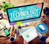 Technology Communication Concept — Stock Photo