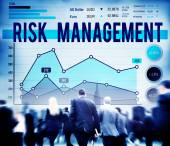 Business people and Risk Management — Stock Photo