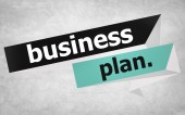 Business Plan Strategy Concept — Stock Photo