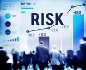 Управления рисками концепции — Стоковое фото