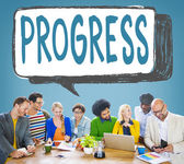 Business team and Progress Concept — Stock Photo