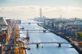 View over Dublin — Stock Photo