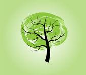 Drzewo — Wektor stockowy