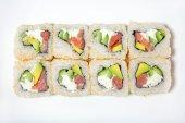 Sushi et rouleaux — Photo
