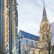 Постер, плакат: Fragments of urban life the old German city of Aachen