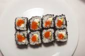 Sushi, different kinds of sushi — Stock Photo